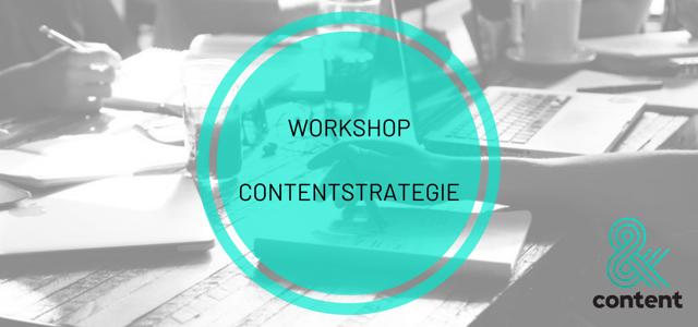 Workshop Contentstrategie